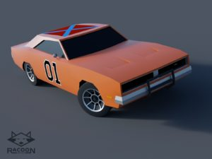 General Lee – modeling monday
